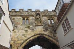 Vista da cidade de Salisbúria fotos de stock royalty free