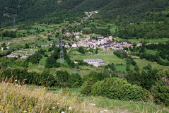 Vista da cidade de Senet Fotos de Stock