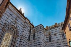 Vista da cidade de Siena Italia imagem de stock royalty free