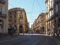 Vista da cidade de Turin fotos de stock royalty free