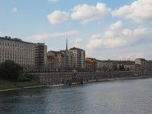 Vista da cidade de Turin imagem de stock