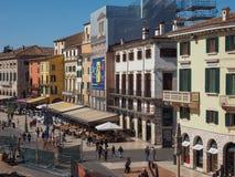 Vista da cidade de Verona fotos de stock