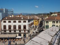 Vista da cidade de Verona fotografia de stock royalty free