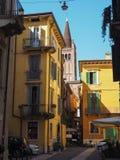 Vista da cidade de Verona fotos de stock royalty free