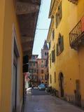 Vista da cidade de Verona fotografia de stock