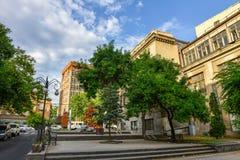 Vista da cidade de Yerevan fotografia de stock royalty free