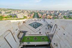 Vista da cidade de Yerevan imagem de stock royalty free