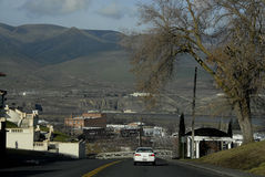 Vista da cidade do lewiston Imagem de Stock
