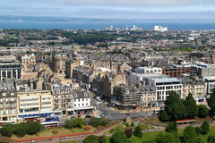 Vista da cidade Edimburgo Imagem de Stock