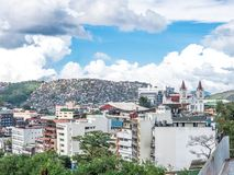 Vista da cidade Filipinas de Baguio Imagens de Stock Royalty Free