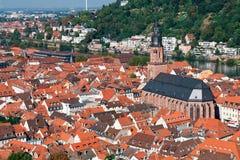 Cidade de Heidelberg Imagens de Stock Royalty Free