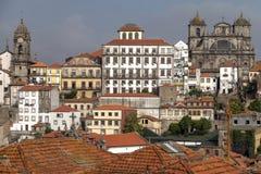 Vista da cidade histórica de Porto, Portugal Imagens de Stock Royalty Free