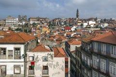 Vista da cidade histórica de Porto, Portugal Foto de Stock