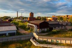 Vista da cidade Kostroma Rússia foto de stock royalty free