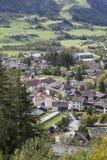 Vista da cidade Matrei Imagens de Stock