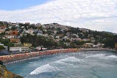 Vista da cidade velha de Ulcinj Imagens de Stock Royalty Free
