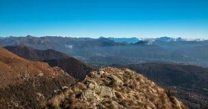 Vista da cimeira do lema do monte Imagem de Stock Royalty Free