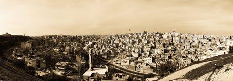 Vista da citadela, versão do bw Foto de Stock
