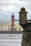 Vista da coluna Rostral Fotografia de Stock Royalty Free