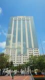 A vista da construção de banco de Previsora do La, é a segunda o mais altamente no país com 135 medidores Imagens de Stock