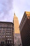Vista da construção no Midtown de New York City Fotos de Stock