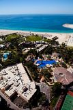 Vista da costa de Dubai Imagens de Stock