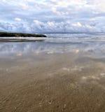 Vista da costa de Tullan, Bundoran Imagens de Stock