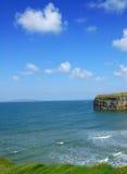 Vista da costa ireland do Kerry fotografia de stock