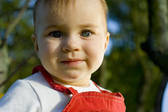 Vista da criança Foto de Stock Royalty Free