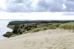 Vista da duna de Agilis Foto de Stock Royalty Free