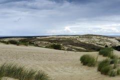 Vista da duna de Agilis Imagem de Stock