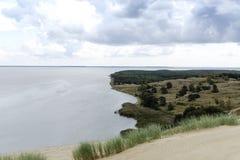 Vista da duna de Agilis Fotos de Stock