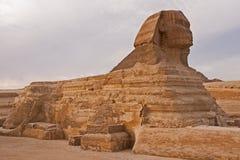 Vista da esfinge o platô de Egito, Giza foto de stock