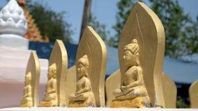 Vista da estátua de buddha em Tailândia fotografia de stock royalty free