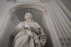 Vista da estátua de Carl Linnaeus imagem de stock