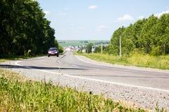 Vista da estrada Imagens de Stock Royalty Free