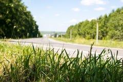 Vista da estrada Fotos de Stock