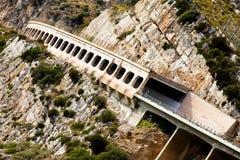 Vista da estrada da montanha Fotos de Stock