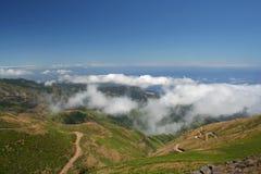 Vista da estrada de Paul de Serras Imagem de Stock Royalty Free