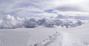 Vista da Etna Fotografia Stock Libera da Diritti