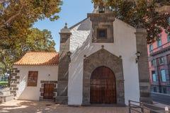 Vista da fachada do Ermita de construção de San Telmo, Las Palmas de Gran Canaria, Espanha imagens de stock