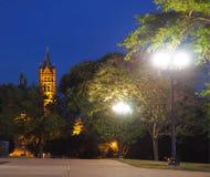 Vista da faculdade de Crouse fotografia de stock royalty free