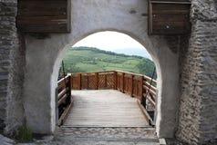 Vista da fortaleza Fotografia de Stock