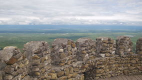 Vista da fortaleza antiga em Sighnaghi, Geórgia vídeos de arquivo