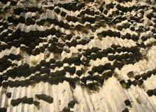 A vista da garganta do basalto de Garni em Armênia Foto de Stock Royalty Free