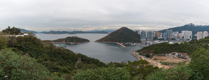 Vista da Hong Kong Ocean Park Immagine Stock Libera da Diritti