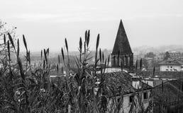 Vista da igreja Fotografia de Stock