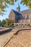 Vista da igreja Católica do St Theresia na cidade de Maastricht netherlands fotografia de stock