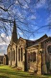 Vista da igreja de Christ em Chatburn, Lancashire. imagens de stock