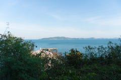 Vista da ilha Imagem de Stock